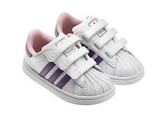 factory price 2dd49 057f0 Adidas Superstar 2 CF Inf (blanco morado rosa)(20-27