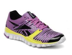 low priced bedae 6bc92 ... Reebok Realflex Fusion 2.0 (purpura negro amarillo blanco) Mujer Adidas  Zx Flux 2.0 Luz Púrpura Zapatillas Running Baratas