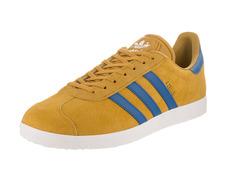 online store 72908 dae0f Adidas Originals Gazelle (Nomad Yellow Core Blue Footwear White)