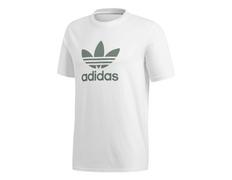 Adidas Originals Trefoil T-Shirt (White Trace Green) 7551918a2