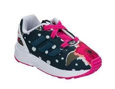 cheaper 22ff7 4ace5 Adidas Originals ZX Flux EL Infants