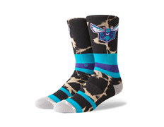 606422579d1ee Charlotte Hornets Acid Wash Socks