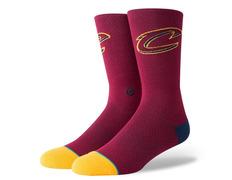 4c30cdf5690 Stance Cavs Jersey 2 Bur Socks