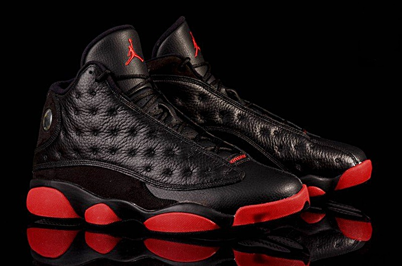 premium selection 7ea1e 18b98 ... air jordan 13 retro dirty bred (003 negro rojo) img 9