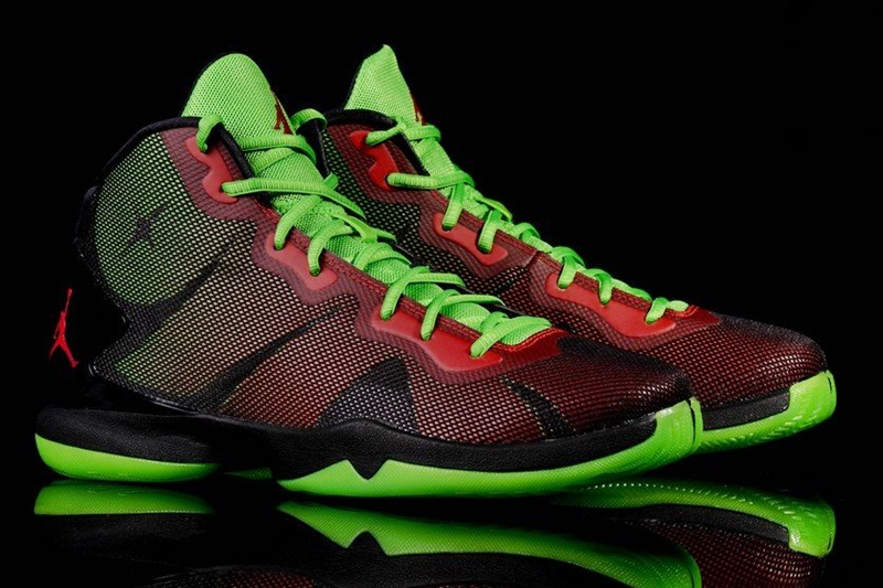 507bdc6327448f ... ebay jordan superfly 4 blake griffin marvin the martian 006 black gym  red green pis red