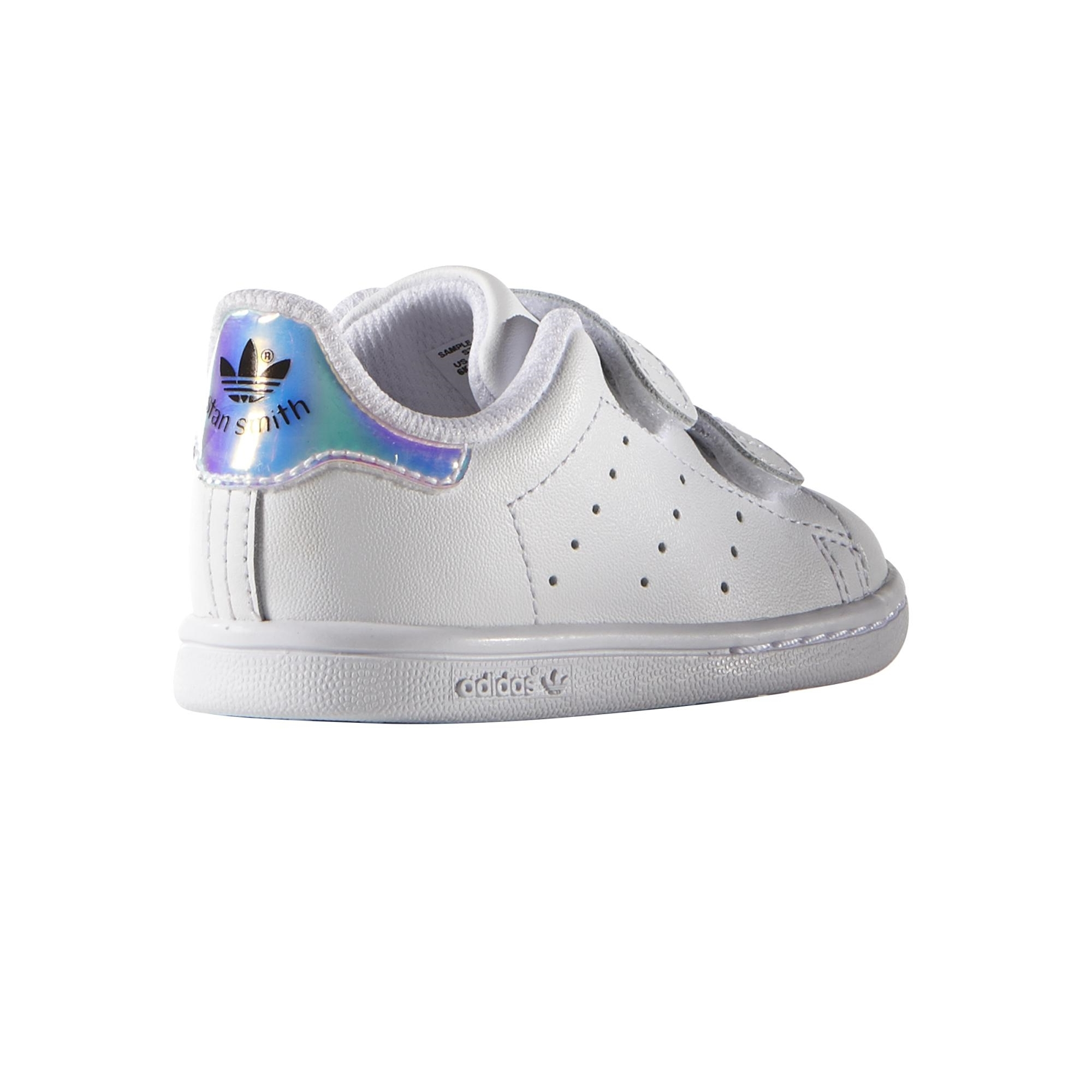adidas stan smith cf velcro grise