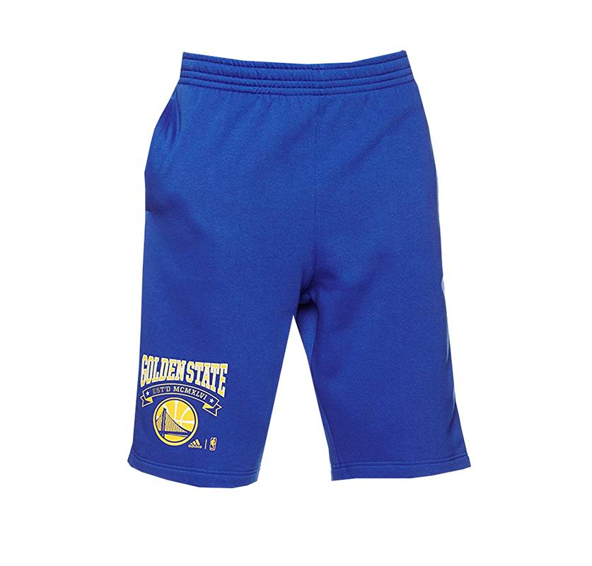 Adidas Golden bleujaune Short Washed Nba State 1Z68U1