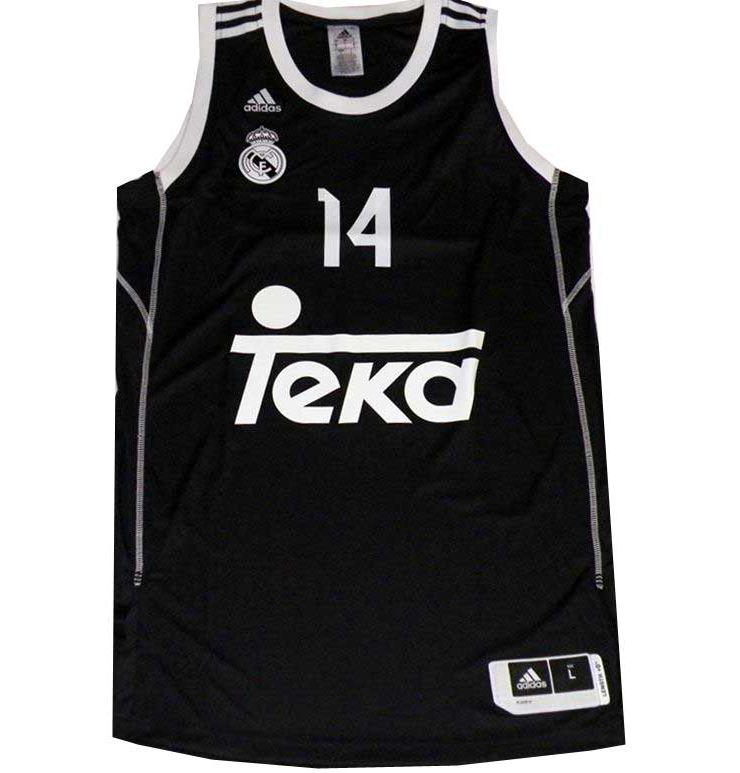 a013e4c7acfd4 Camiseta Ayón 2ª Equipación Real Madrid Basket 2014 (negra)