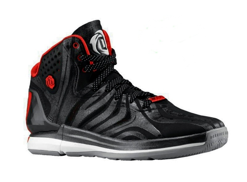 the latest f8488 bbb78 sale adidas derrick rose 4.5 bulls negro rojo blanco 328cd 3db19