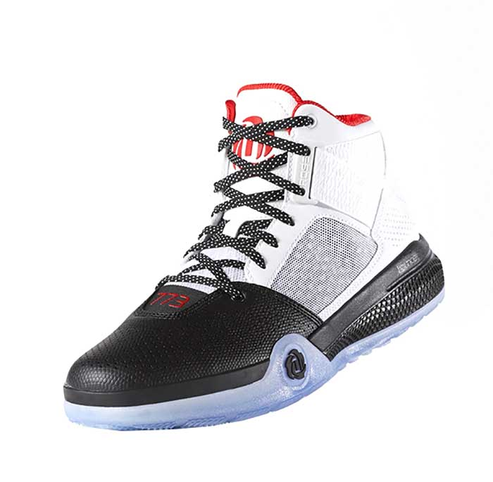 buy popular fa264 24a22 Adidas D Rose 773 IV Junior (blanco negro rojo)