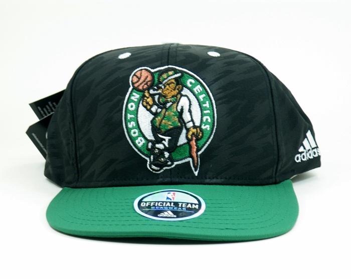 63b4cec881757 Adidas Gorra Flatbrim Boston Celtics Bordada(negro verde blanco)