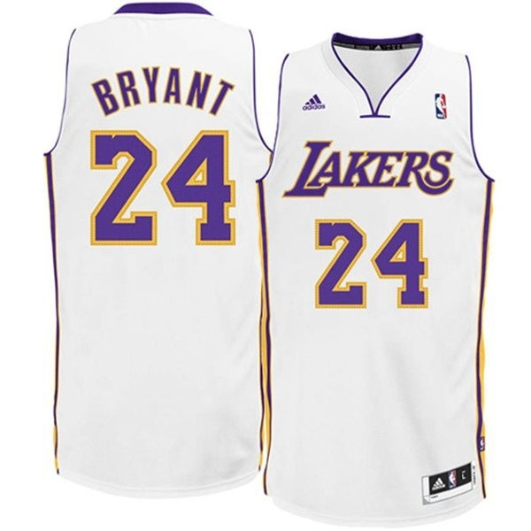 Bryant Kobe Adidas Camiseta Swingman Lakersblanco 2WE9DHIY