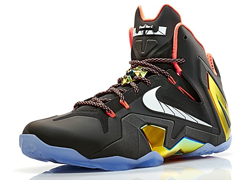 buy popular 3bacb d8b04 ... shop lebron xi elite gold 002 negro metalic gold blanco azul b29f1  b5352 spain nike lebron 11 zapatos blanco rojo negro graffiti university ...
