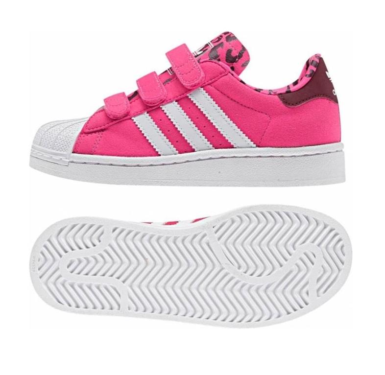 Adidas Superstar 2 CF Infatil (19-27/rosa
