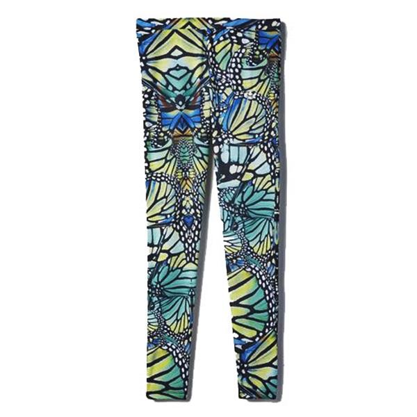 multicolor Adidas Leggings Adidas Butterfly multicolor Leggings Originals Butterfly Originals faBqdFWpB