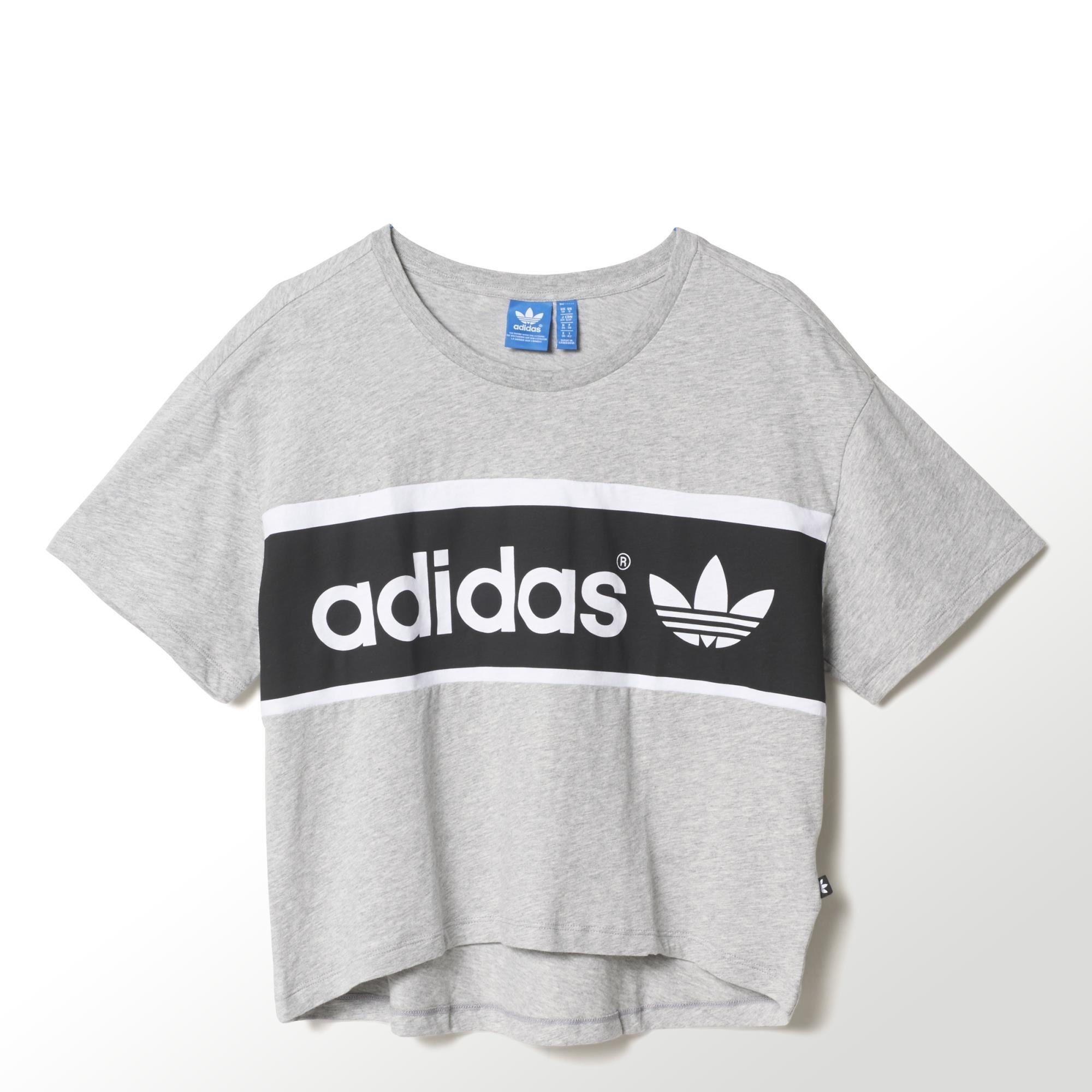 Adidas Originals Camiseta Mujer City Tokio (gris) 99b32a250e004