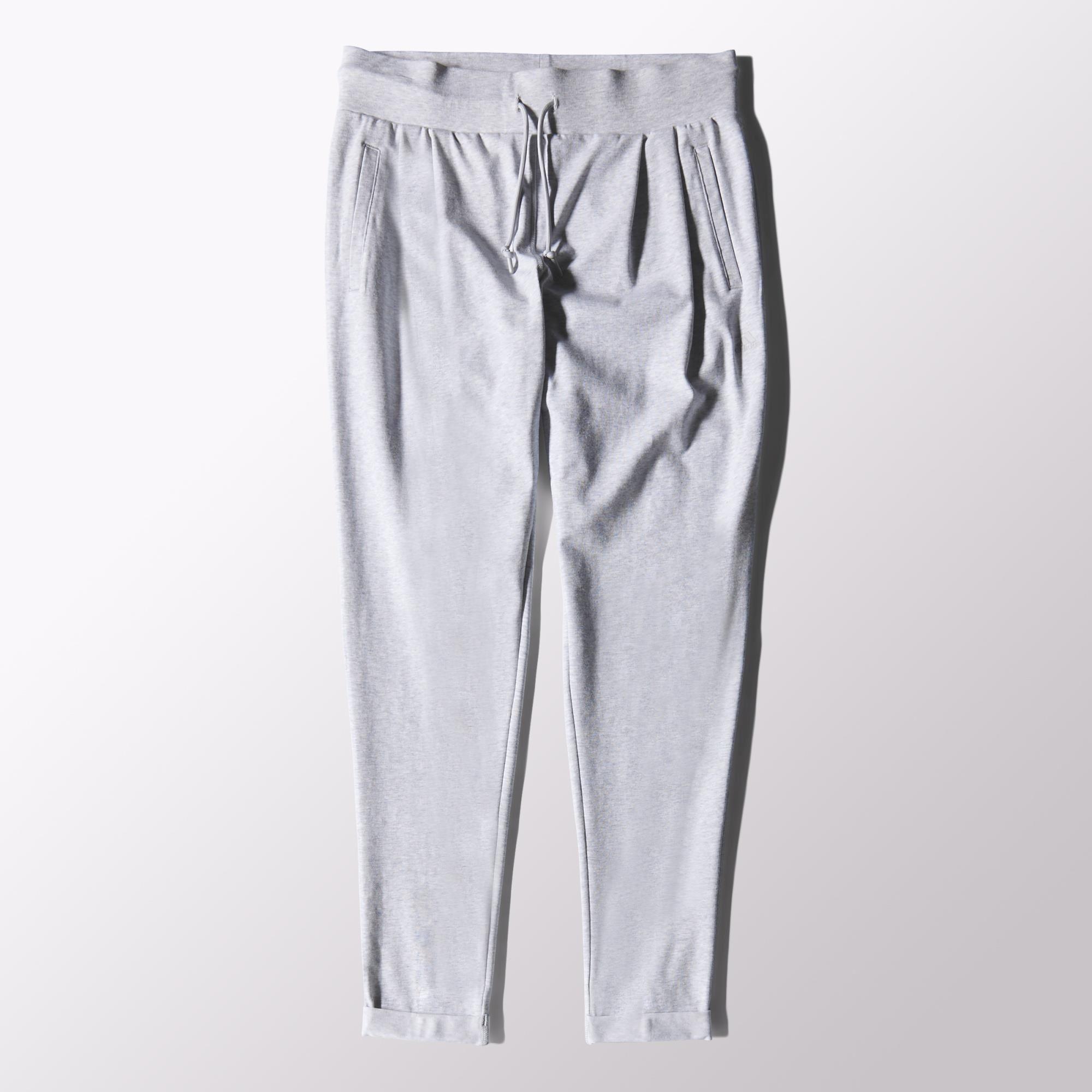 tienda descuento ahorros fantásticos Adidas Pantalón Mujer Sport Essentials Jersey (gris)