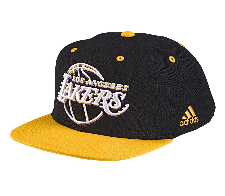 7ad67bd0100 Adidas NBA Gorra L.A Lakers (negro amarillo blanco)
