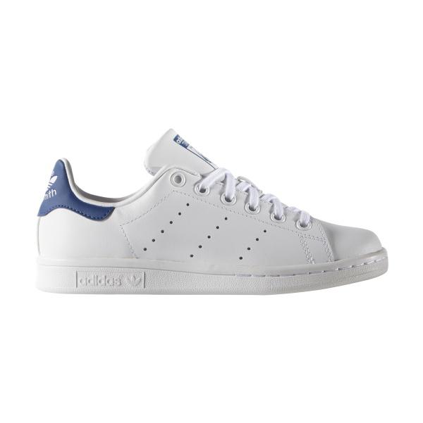 Adidas Originals Stan Smith J (blanc/bleu)