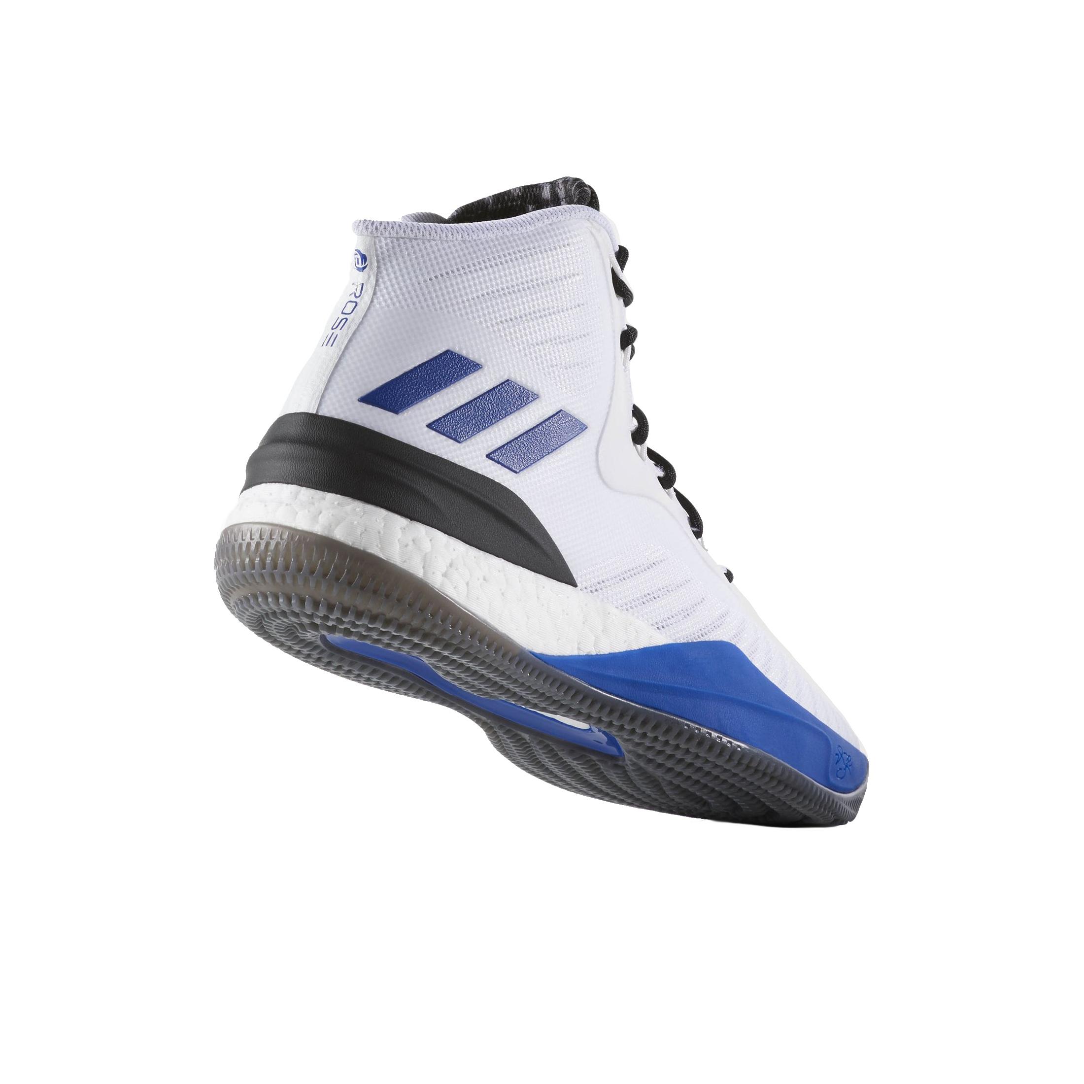 Parfait adidas D Rose 7 Homme Chaussures Blue sld Black