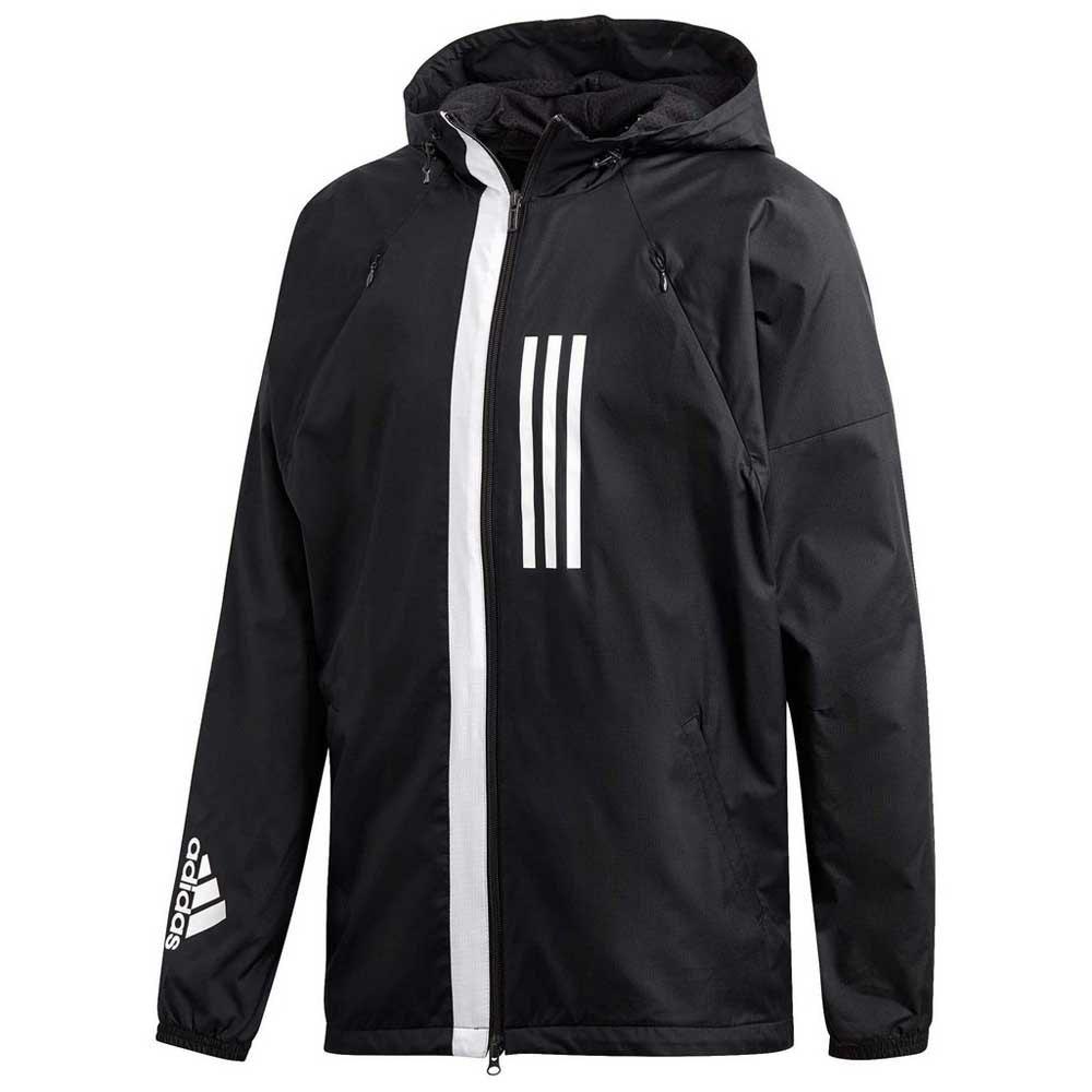 M Fleece Linedblack Adidas Jacket Windbreaker 1TJ3FKlc