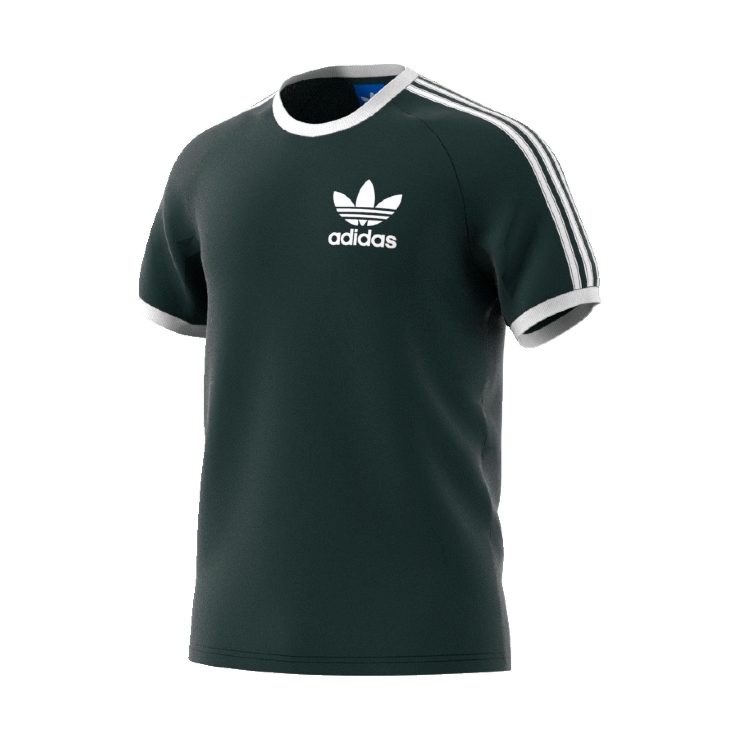 e2856fa9e Adidas Originals CLFN Tee (green night) - manelsanchez.fr