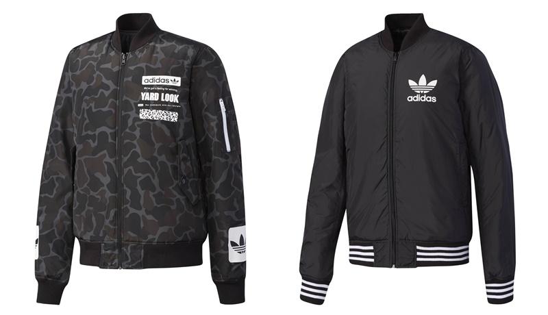 Adidas Originals Graphic Reversible Bomber Jacket