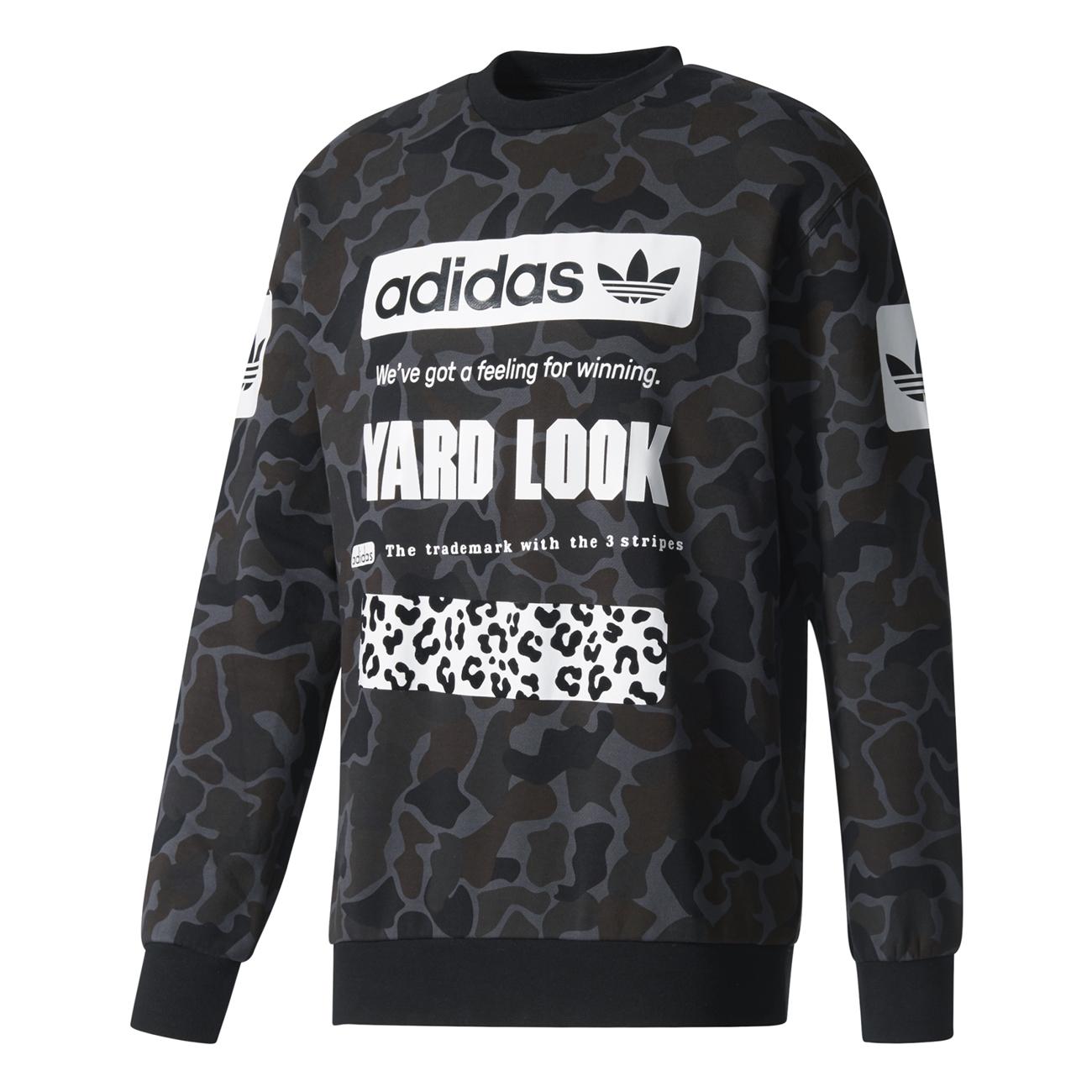 Originals Camouflage Graphic Adidas Crew Street aXpdXgq