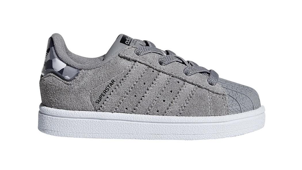 Camo Superstar Solid El Originals Grey Adidas Infants rCWdxBoe