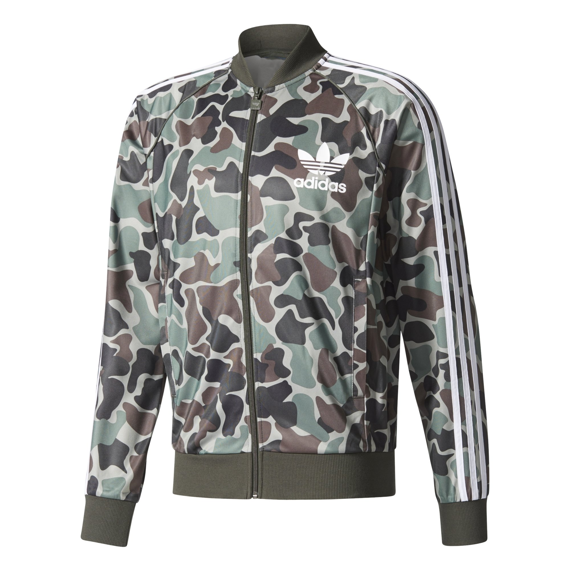 Adidas Originals Superstar Track Top Camo