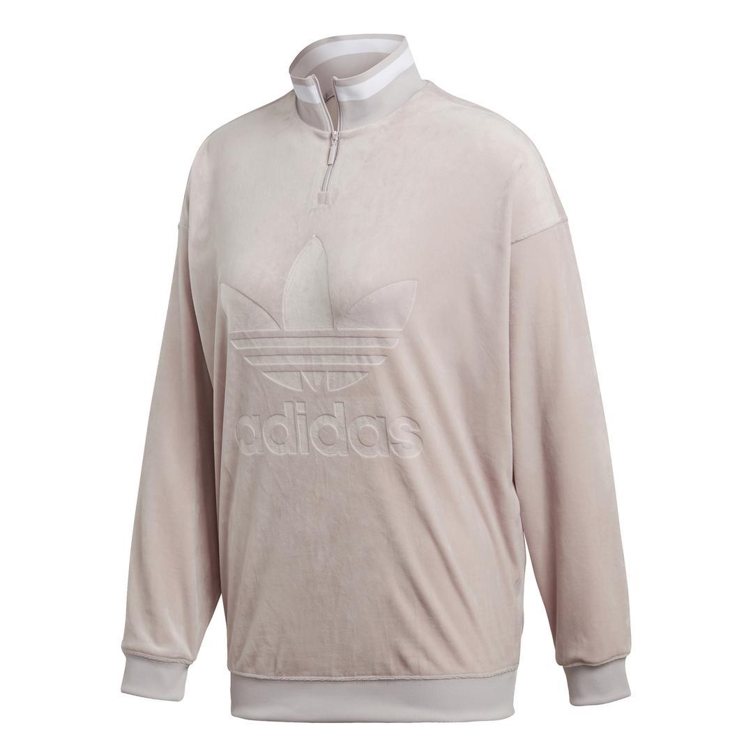 Adidas Originals Sweater Half Zip W Ice Purple