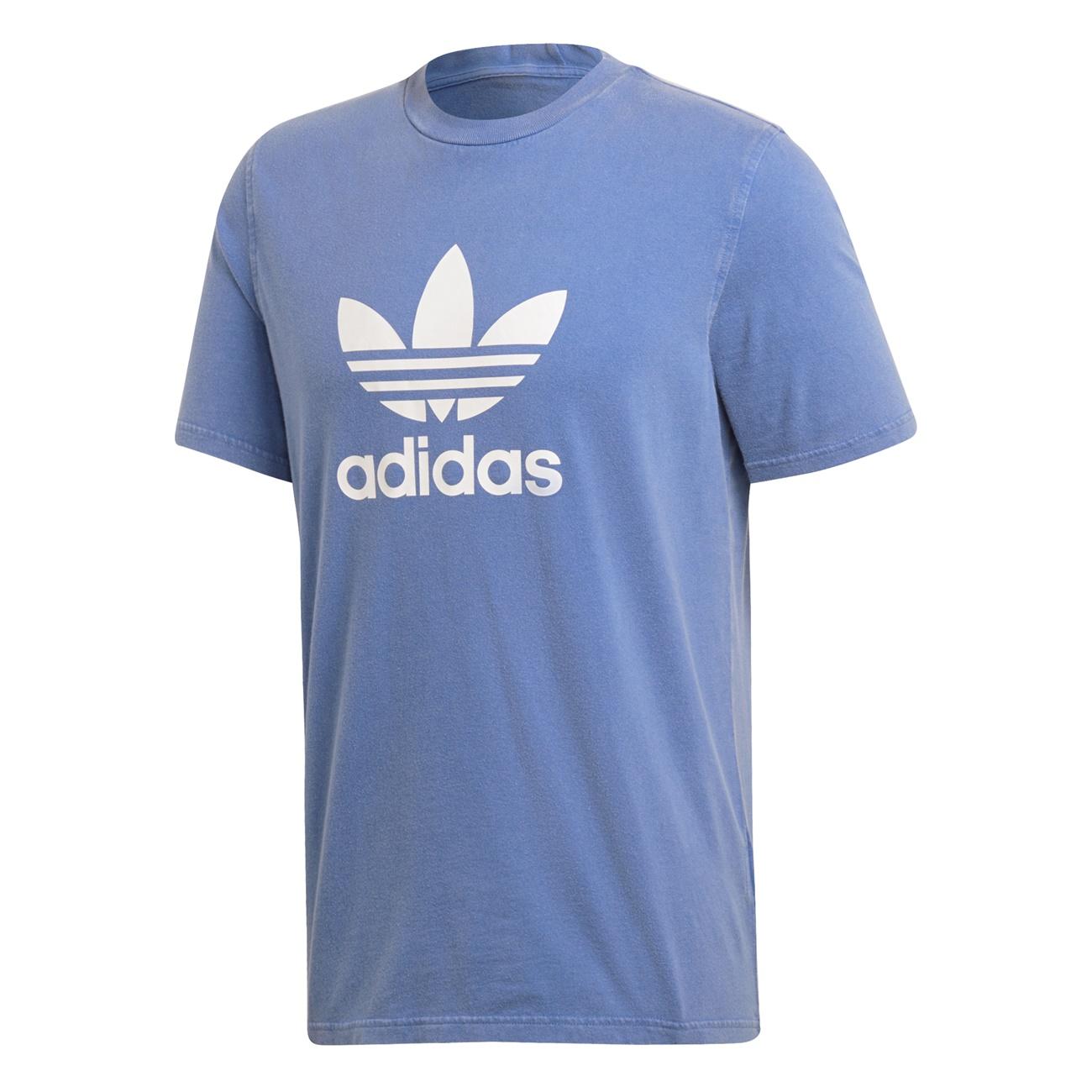 T Adidas Trefoil Shirt blue Originals ETRwqT