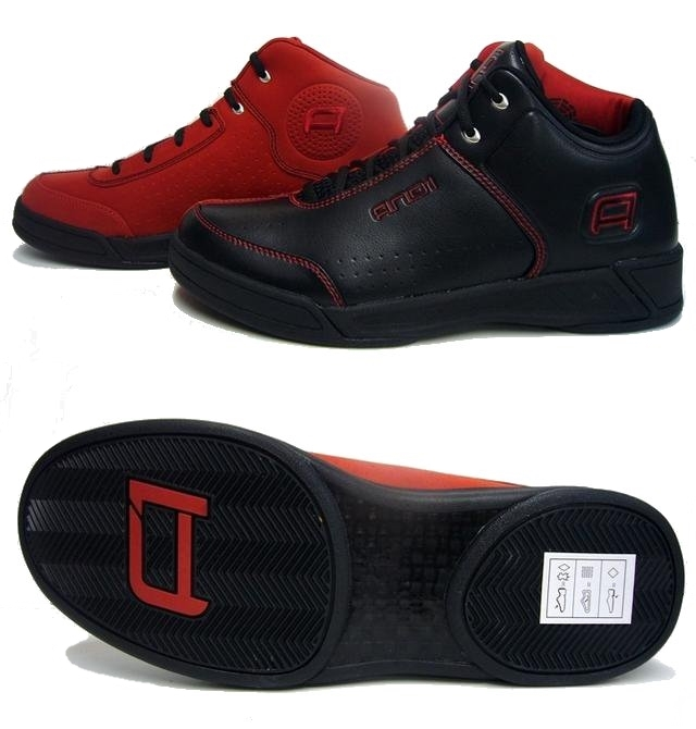 And 1 Tai Chi TGR Mid (black/red)