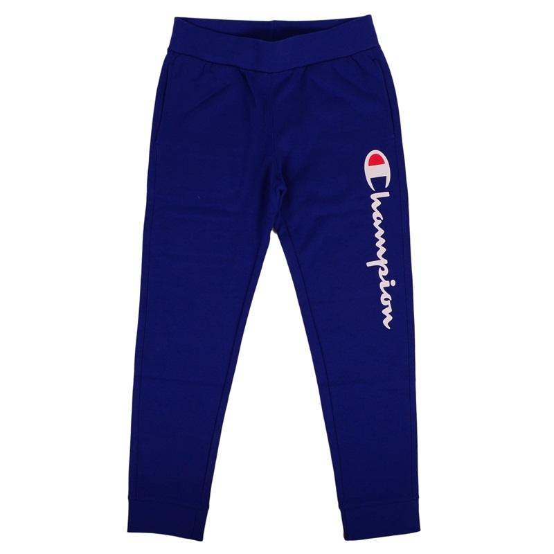 95ce7c78e4ae5 Champion Authentic Big Logo Rib Cuff Pants (blue royal  white)