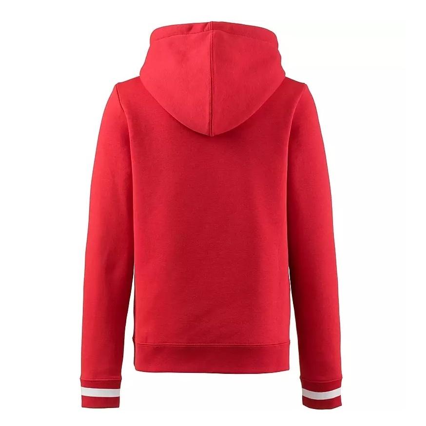 Nike Air Kids Long,Sleeve Fleece Top (red) , manelsanchez.fr