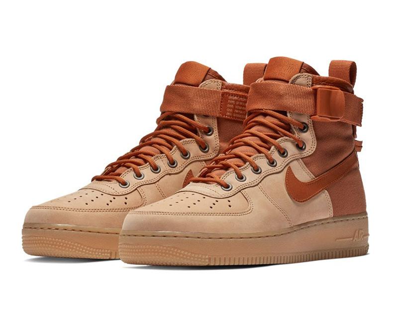 Boot Gum Force Mid Sf Winter Air Nike 1 Brown 7FOxvwqnB